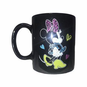Walt Disney Minnie Mouse Black Coffee Mug